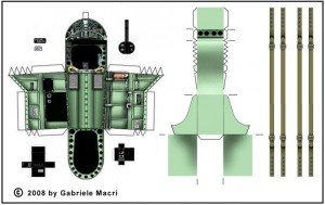 Macri Fiat G50  cockpit parts