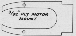 Dwarf Ply Motor Mount